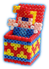 кубики из термомозаики